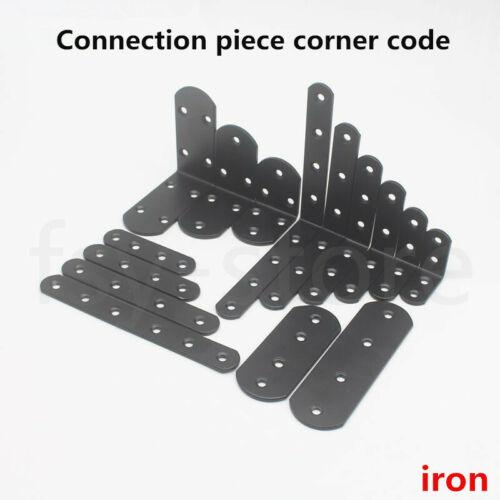 Bracket Right Angle Black Iron Bracket