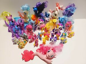 Huge My Little Pony Lot Minis MLP PONIES rare Ones miniatures