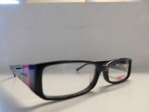 e1b9fb3bf711 Image is loading Genuine-Ladies-Cosmopolitan-C203-Chunky-Eyeglasses-Glasses- Frames-