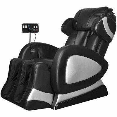 vidaXL Fauteuil de Massage Electrique Cuir Artificiel Relaxation Salon Maison | eBay