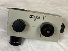 Meiji Techno Rz Series 75 To 75x Stereoscopic Microscope Zoom Body With Plan 1x