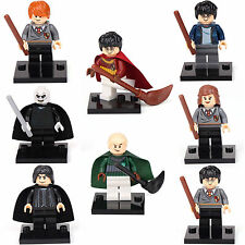 Harry Potter Hermione Malfoy Ron Lord 8 Mini figures Building Bricks Toys LEGO