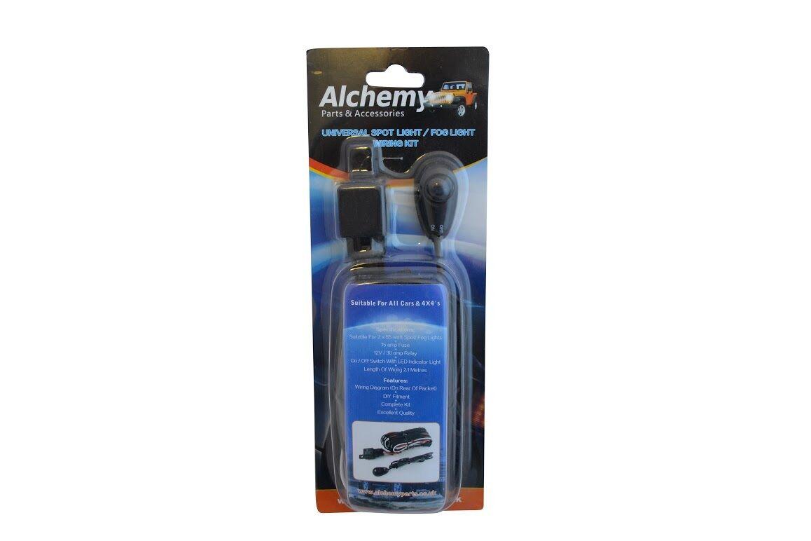Wiring Harness Loom Kit For Spotlight Spot Fog Light Honda Crv Hrv Table Lamp Kits Uk 4x4 4x2 Ebay