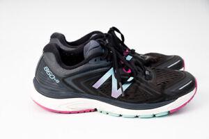 New-Balance-860v8-Womens-Running-Athletic-Shoes-Black-ASYM-Counter-W860BP8-US-7