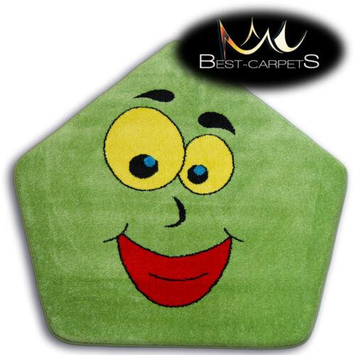 """Tapetes moderno grossa /""""Pintura/"""" tapetes Original Colorido sorriso lábios para crianças Tapete"""