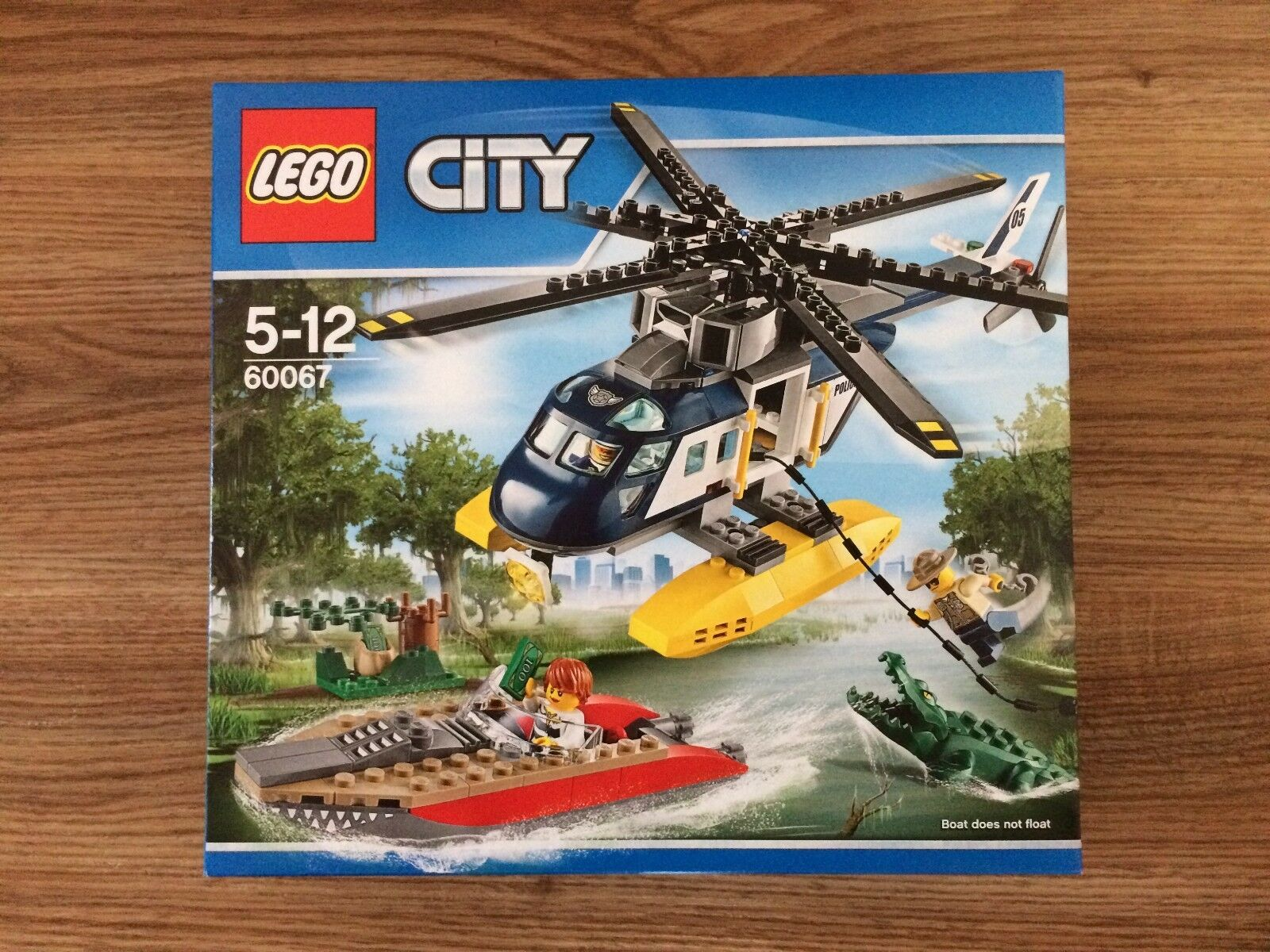 LEGO 60067 60067 60067 Helicopter Pursuit Brand New Factory Sealed f2a09a