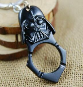 Self Defense Star Wars Black Darth Vader Tactical EDC Key Chain knuckle Ring