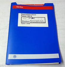 Reparatiebrochure VW Passat B 5 Motronic inspuit- en ontstekingssysteem ( 6-Cil)