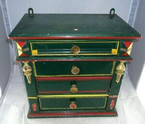 antike modellkommode wandschr nkchen zur restauration ebay. Black Bedroom Furniture Sets. Home Design Ideas
