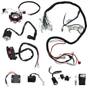 Complete Electrics Wiring Harness For ATV QUAD 150/200/250/300CC Kawasaki  Stator | eBayeBay