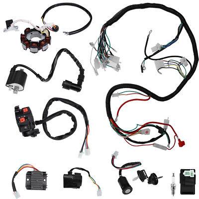 [SCHEMATICS_48DE]  Complete Electrics Wiring Harness for ATV QUAD 150/200/250/300CC Kawasaki  Stator | eBay | 250cc 300cc Wiring Harness |  | eBay