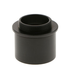Camera-Adapter-1-25-034-to-C-Mount-Female-Thread-for-Telescope-Eyepiece-Black