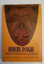 Dover Pictorial Archive: African Designs from Traditional Sources by Geoffrey Williams (1971, Paperback)