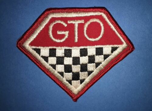 Rare 1970/'s Pontiac GTO Car Club Jacket Hat Cap Seat Covers Coveralls Patch A