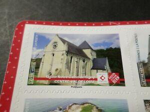 FRANCE-2019-timbre-PATRIMOINE-EGLISE-NOTRE-DAME-RIGNY-AUTOADHESIF-neuf-MNH
