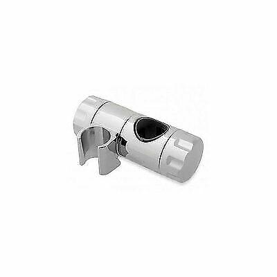 Chrome Universal Shower Head Holder Triton 25mm Riser Rail Handset Holder
