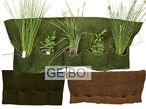 Pflanztasche Pflanzkorb Bewuchsmatte F Teichpflanzen Ufermatte