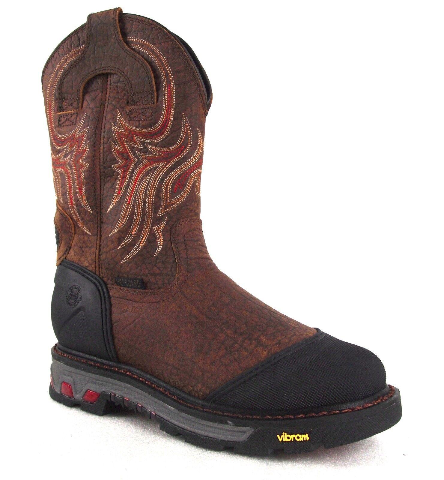 Justin WK2114 Commander-X5 Waterproof Steel Toe Met-Guard 11  Safety Work Boots