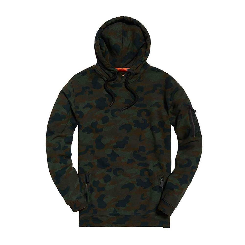 NEW Super Dry Men's Athletic Rookie OverGrößed Hoodie Authentic 100% Cotton