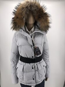 Details about NEW Genuine Parajumpers Down Parka Jacket Ladies with real furfur Large M 38 show original title