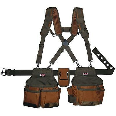 s l400 bucket boss suspension rig harness tool belt vest suspenders pouch