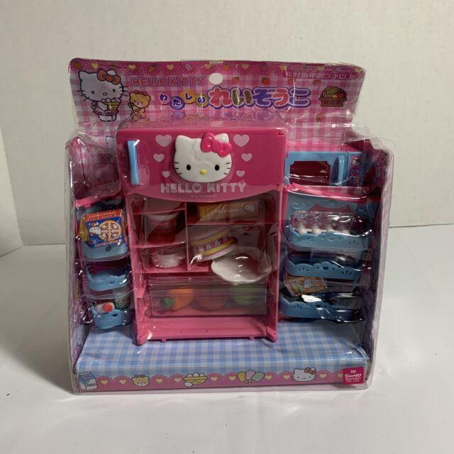 Hello Kitty Mini Kitchen Refrigerator Fridge Pretend Play Toy Set For Kids Us For Sale Online