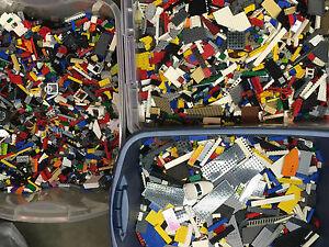 Lego-1-99-Pounds-LBS-Legos-Pieces-HUGE-BULK-LOT-bricks-building-blocks-w-Minifig