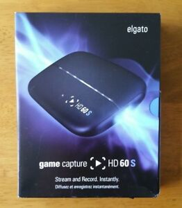 Details about ELGATO GAME CAPTURE HD60S FOR PS4, XBOX ONE, Wii U, TWITCH,  YOUTUBE - 1080P60