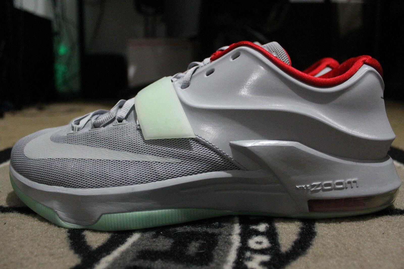Nuove nike kd 7 nikeid yeezy platinum gray rosso verde taglia.