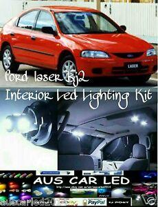 Ford-Laser-KJ2-amp-similar-White-Interior-Led-Light-upgrade-Kit-dome-map-boot