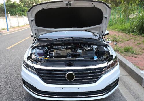 Black Engine Hood Shock Strut Damper Lifter New for VW Jetta 6 MK6 2012-2018