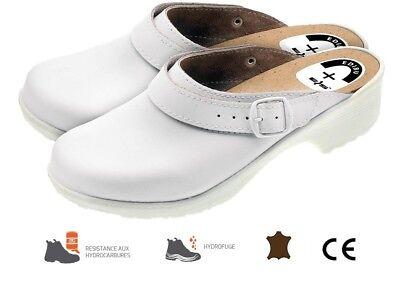 Sabot De Securite Medical Chaussure De Travail Blanche Cuisine