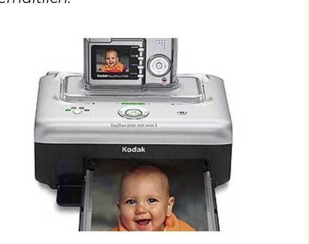 Kodak easy share Druckerstation Serie C 340 NEU