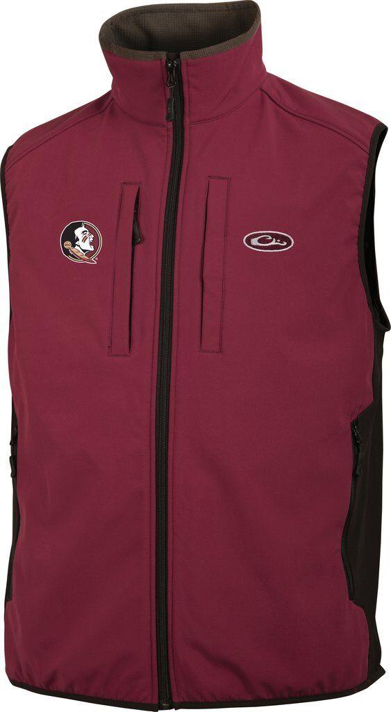 Drake Tech Waterfowl Florida State Windproof Tech Drake Vest SD-FSU-1602-GAR DW1602 0c30c1