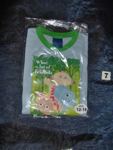A SELECTION OF FLAT PACKED BOYS DISNEY PYJAMAS AGE 12//18M ASSORTED DESIGNS
