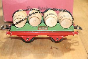 Wagon-Barril-N-1-Tren-Hornby-De-Meccano-De-Paris-Escala-0