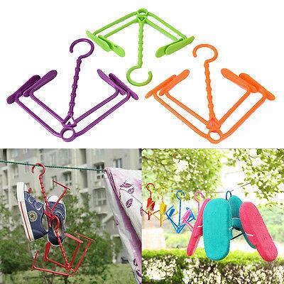 Useful Hanging Shoe Storage Organizers Hanger Holder Hook EF