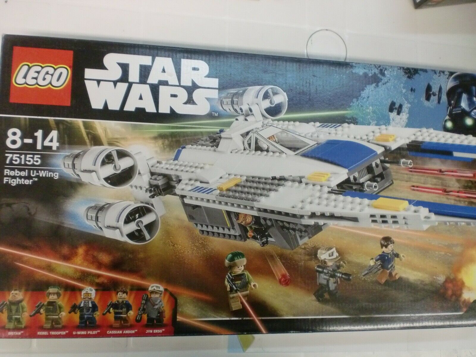 LEGO 75155 - REBEL U-WING FIGHTER - SERIE STAR WARS