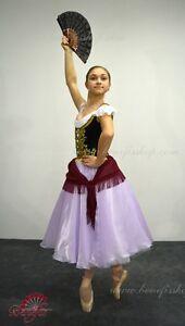Image is loading Ballet-costume-Esmeralda-P-1108-Adult-Size  sc 1 st  eBay & Ballet costume Esmeralda P 1108 Adult Size | eBay