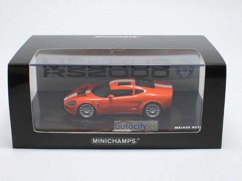 MINICHAMPS MELKUS RS 2000 EVOLUTION naranja naranja naranja 437010020 727d91