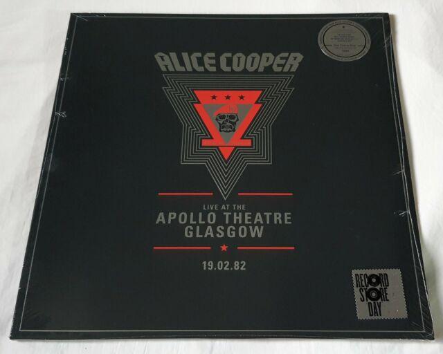 Alice Cooper - Live At the Apollo Theatre Glasgow 19/02/1982 - 2 Lp - RSD 2020