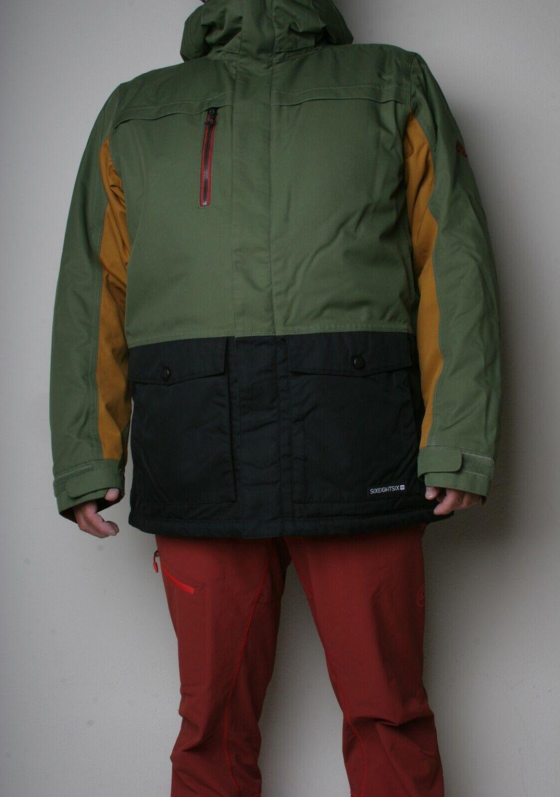686 Anthem Insulated Snowboard Jacket (L) Surplus Green L9W125-SPGR