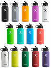 Hydro Flask Stainless Steel Bottle, Wide Mouth w/Straw Lid, 2 Sizes 14 Colors