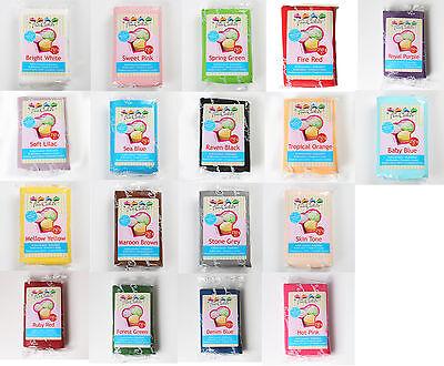 (1,18€/100g) FunCakes farbiges Fondant 250g Rollfondant verschiedene Farben