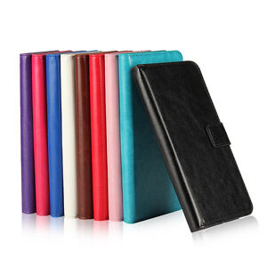 Magnetic PU Leather Wallet Flip Case Cover For Samsung Galaxy J5 2016