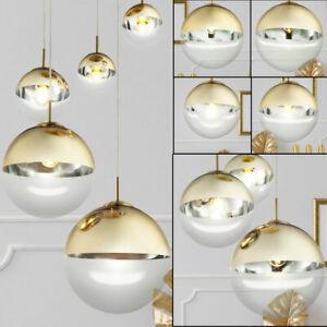 Design Hänge Lampe Kugel Decken Beleuchtung Ess Zimmer Pendel Strahler Leuchte