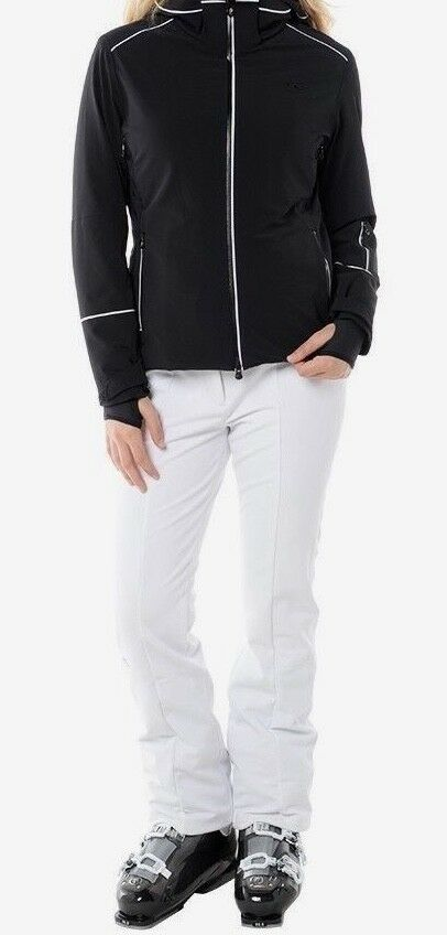 KJUS  Women's Slender Softshell Stretch Ski Pants - 38 Medium US 8 - White - NEW  hot sales