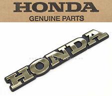 New Genuine Honda Rear Saddlebag Emblem 1989-1998 GL1500 Goldwing OEM #B51