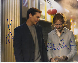 Spiderman-photograph-signed-by-actor-actress-Tobey-Maguire-amp-Kirsten-Dunst