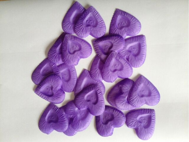 100pc Heart Design Silk Rose Petals Wedding Party New Flower Decoration fashion